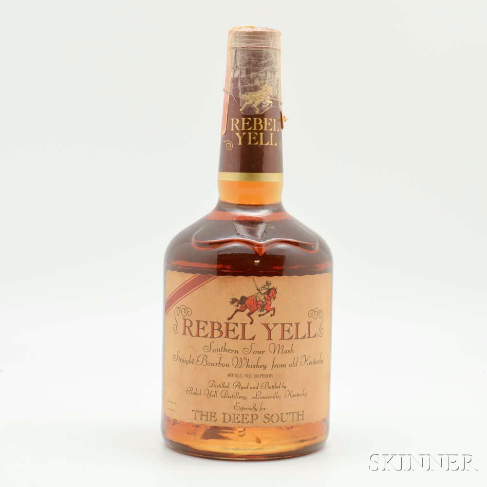 Rebel Yell Southern Sour Mash, 1 750ml bottle