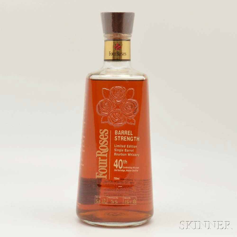 Four Roses Single Barrel 40th, 1 750ml bottle