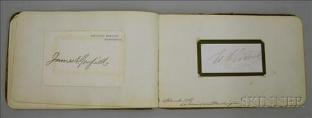 1878 Autograph Book