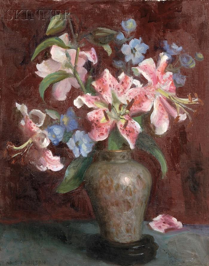 Marguerite Stuber Pearson (American, 1898-1978)      Lilies