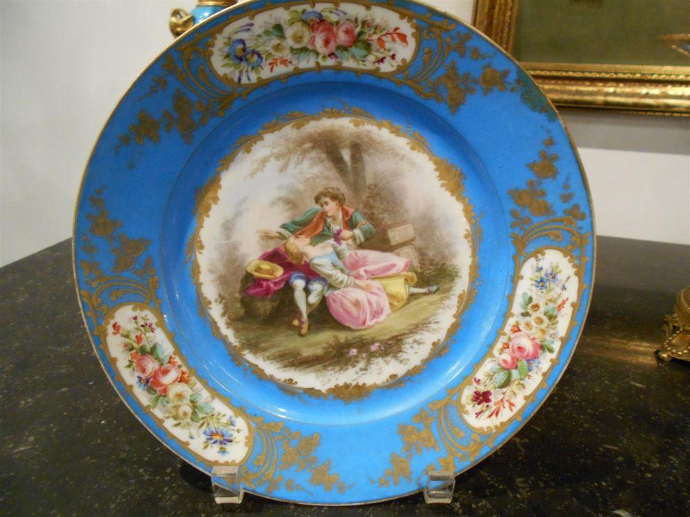 Five Sevres Porcelain Table Articles