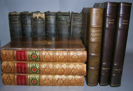 Group of Leather Bound Volumes
