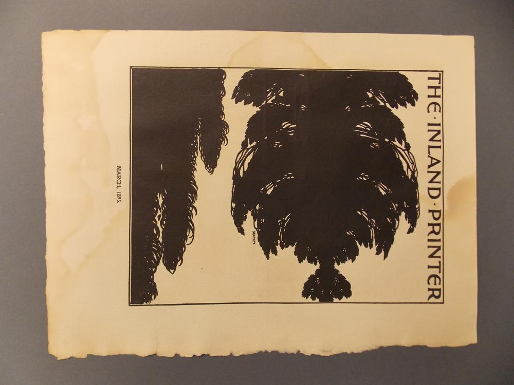 Bradley, William H. (1868-1962) Twelve Cover Designs  , 1894, Signed.