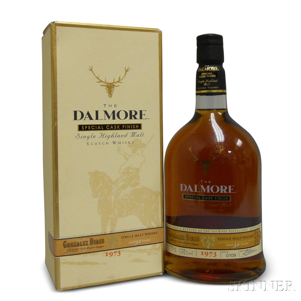 Dalmore 30 Years Old 1973, 1 750ml bottle (oc)
