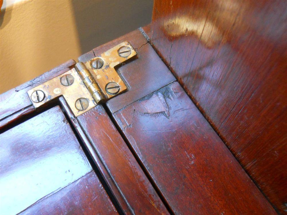 Regency Mahogany Harlequin-style Writing Desk