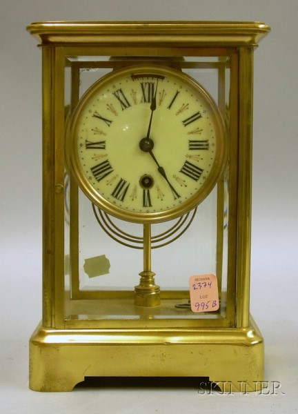 Boston Clock Company Crystal Regulator Clock