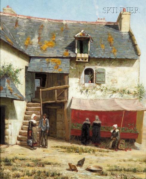 Clifford Prevost Grayson (American, 1857-1951)      Effet De Soleil