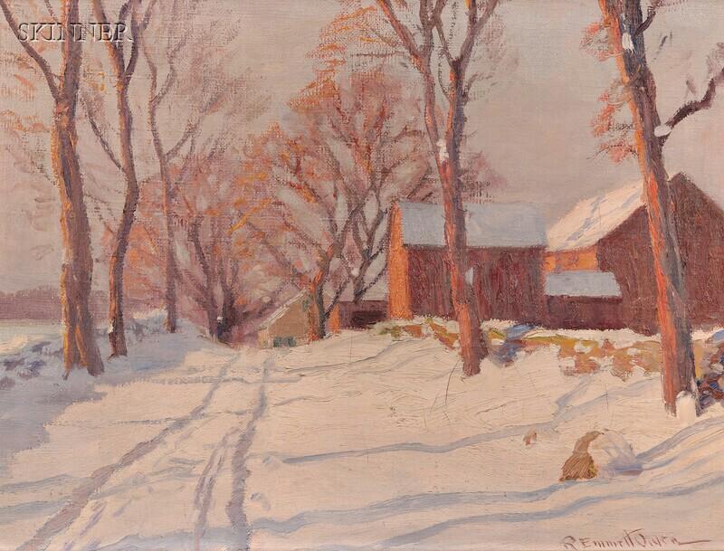Robert Emmett Owen (American, 1878-1957)      The Golden Hour