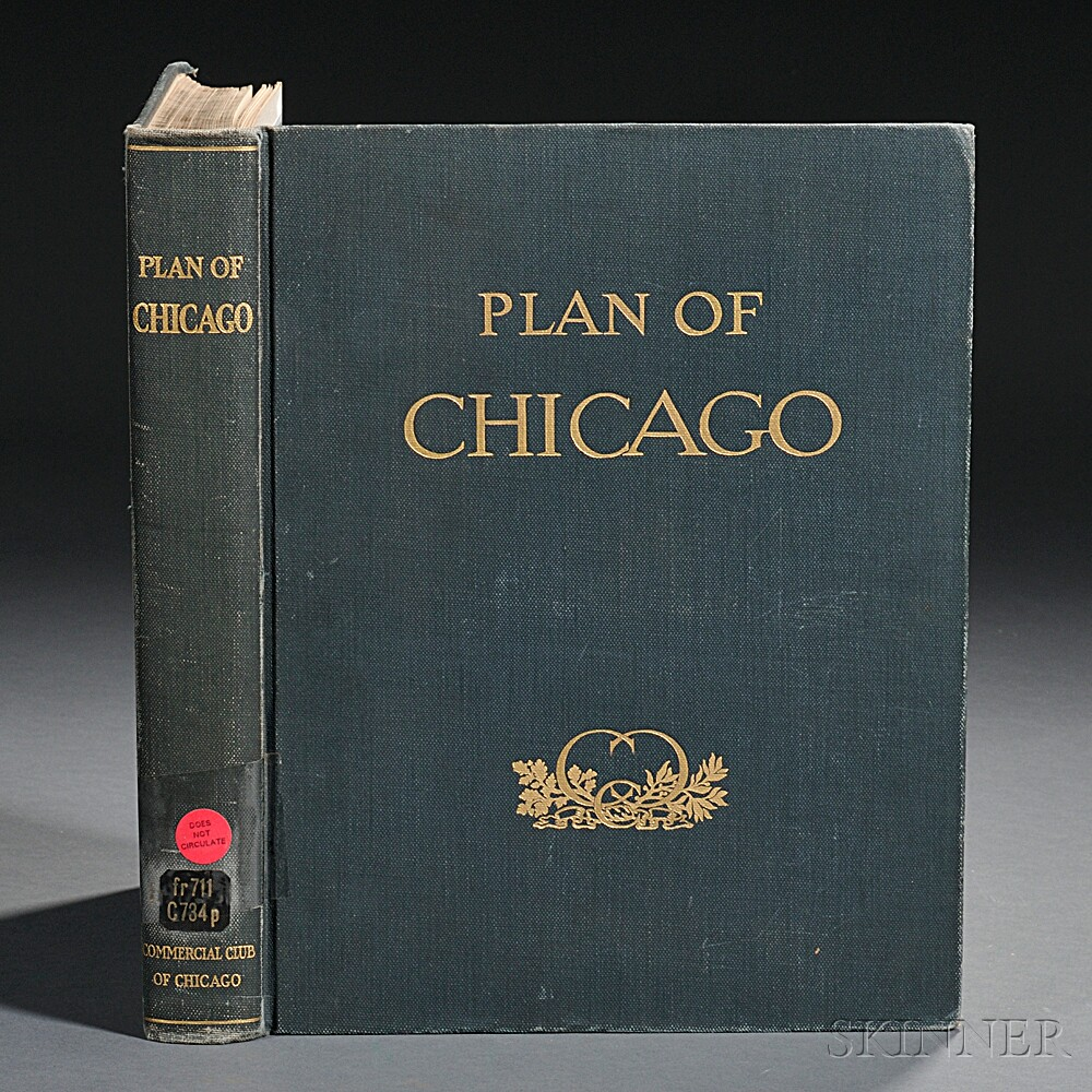 Burnham, Daniel (1846-1912) Plan of Chicago.