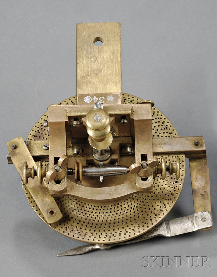 Small Brass and Steel Wheel Cutting Engine