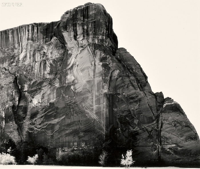 Walter Chappell (American, 1925-2000)      White Tree, Canyon de Chelly, 1967.