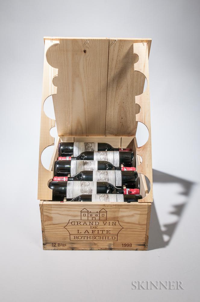 Chateau Lafite Rothschild 1998, 12 bottles (owc)