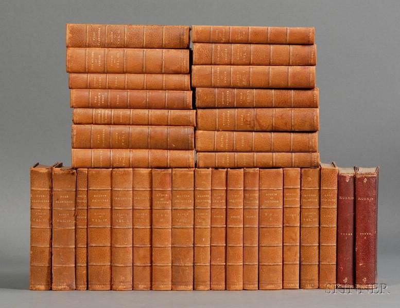 Ruskin, John (1819-1900), Works