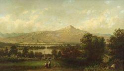 Francis Shedd Frost (American, 1825-1902)  Mt. Chocorua, New Hampshire