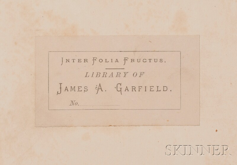 (Garfield, James 1831-1881)), His Copy