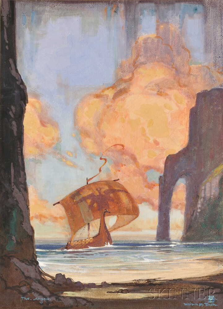 Timlin, William Mitcheson (1893-1943) The Argus