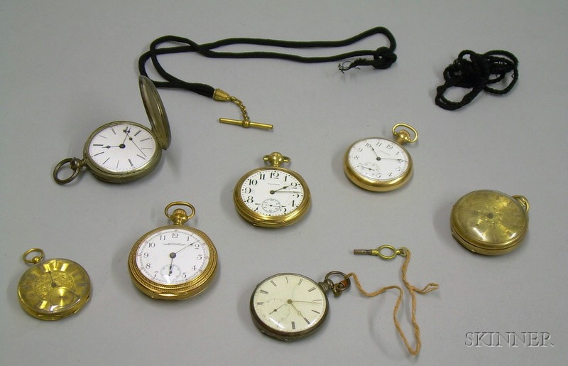 Seven Assorted Pocket Watches