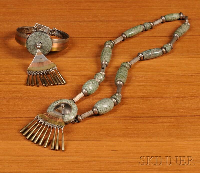 Los Castillo Necklace and Bracelet