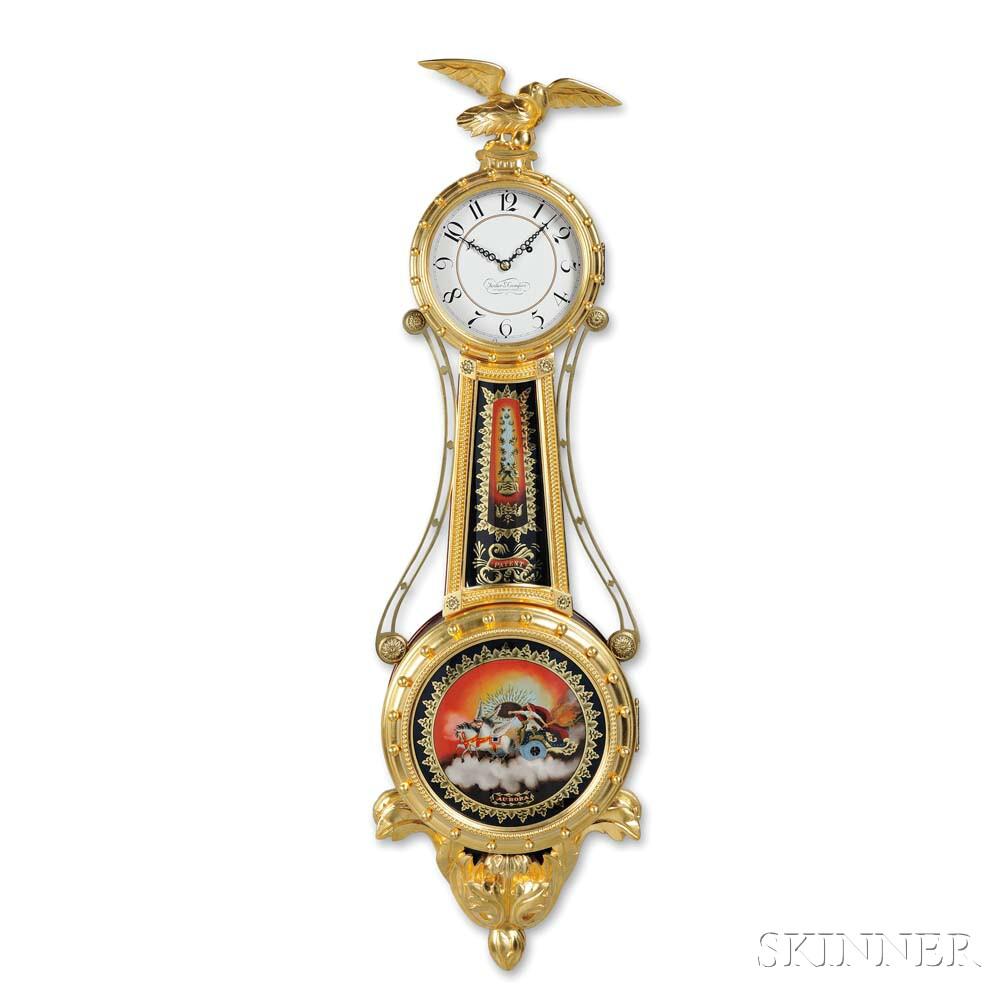 Foster Campos Gilt-front Girandole Clock