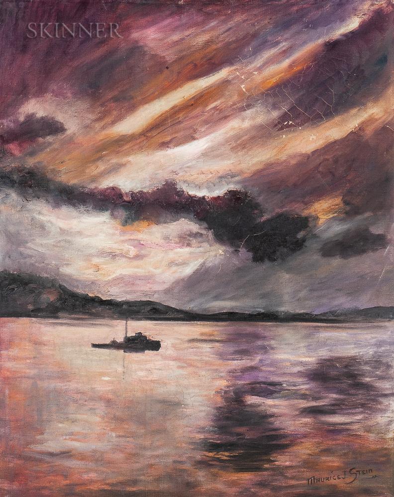 Maurice J. Stein (American, b. 1898)      Ocean Scene