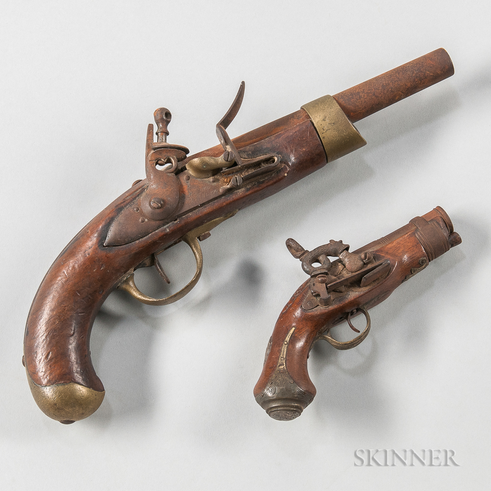 Two Continental Pistols