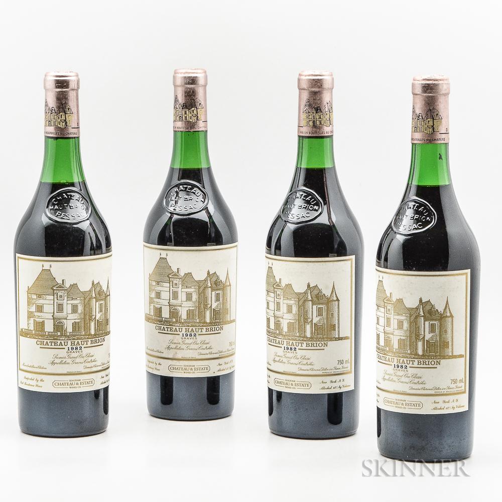 Chateau Haut Brion 1982, 4 bottles