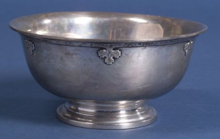 "Wallace Sterling ""Carmel"" Fruit Bowl"