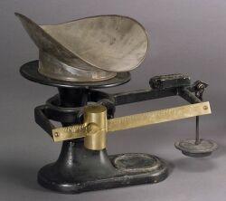 Fairbanks Cast Iron Counter Scale