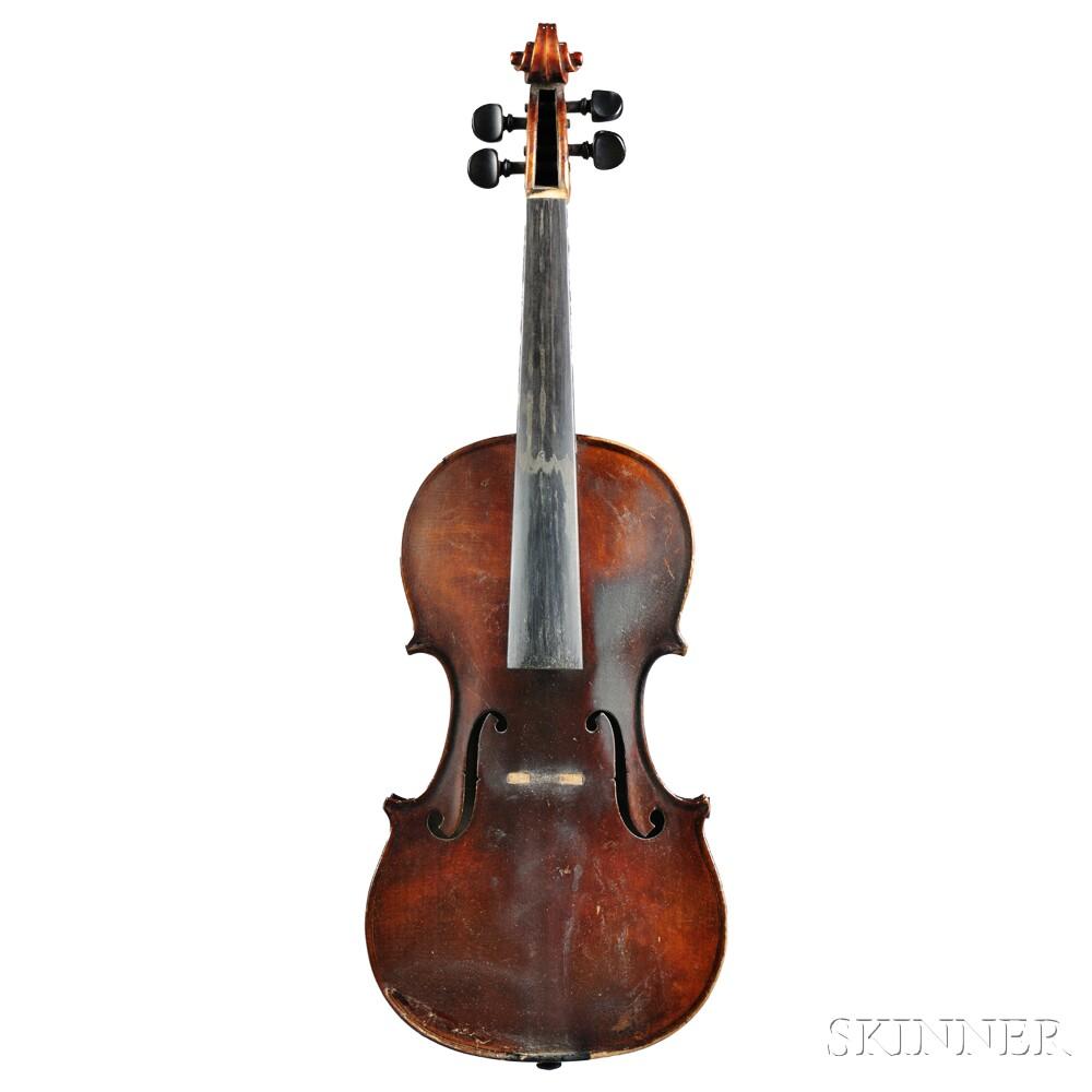 American Violin, Carlton F. Stanley, Newton, 1932