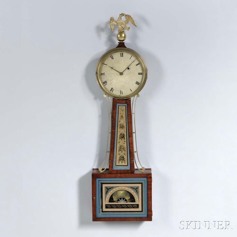 "Massachusetts Patent Timepiece or ""Banjo"" Clock"