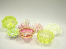 Thirteen Pieces of Assorted Murano Art Glass Table Items.