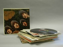 """Beatles """"Butcher Baby"""" Sleeve, Yesterday and Today Album and Thirteen Beatles Albums"""