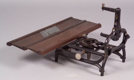 Wight's Patented Engraving Machine