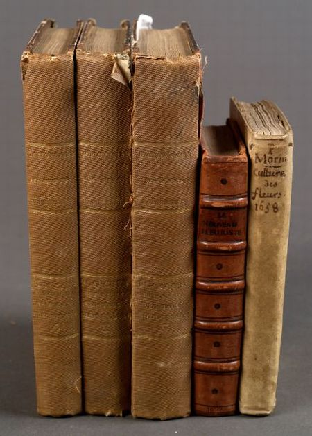 (Horticultural, Botanical, Three Titles in Five Volumes)