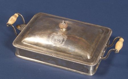George III Silver Lidded Chafing Dish