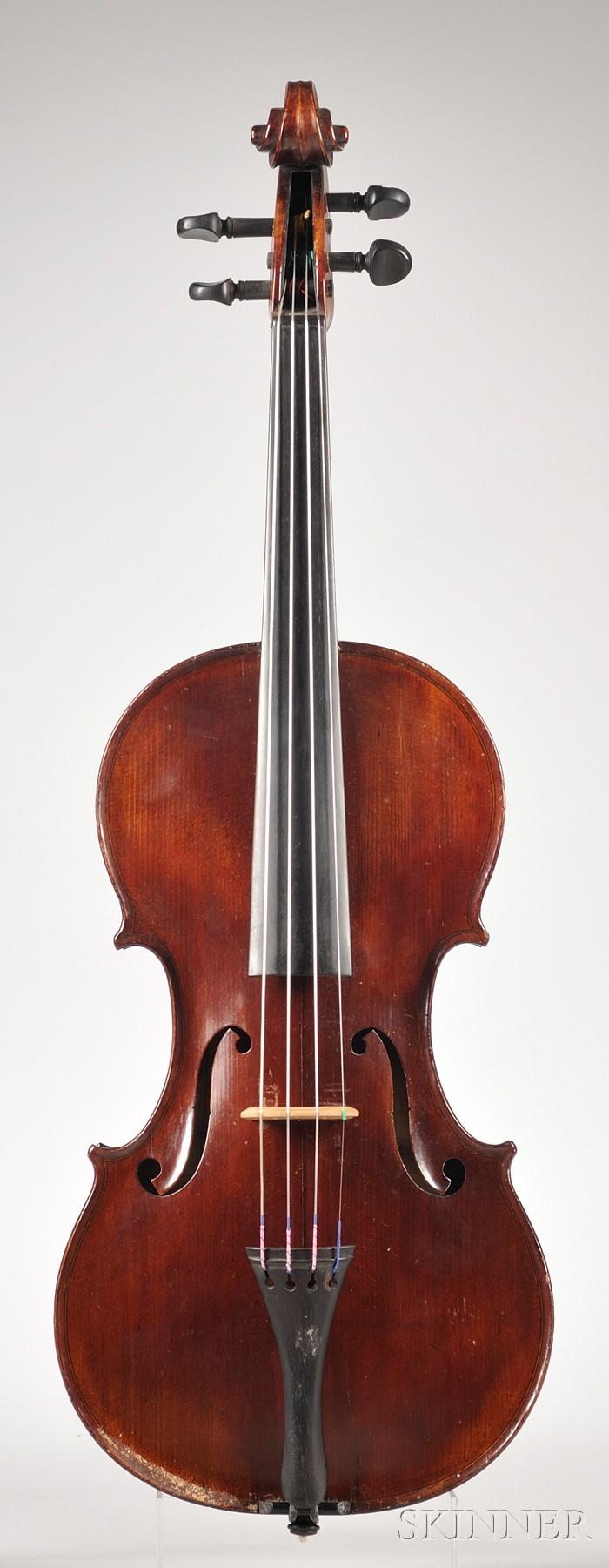 American Violin, Milton O. Wickes, Northampton, 1905