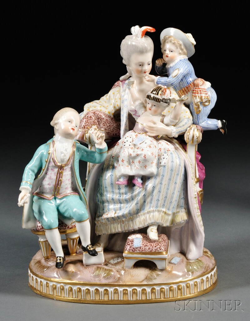 Meissen Figural Group The Good Mother