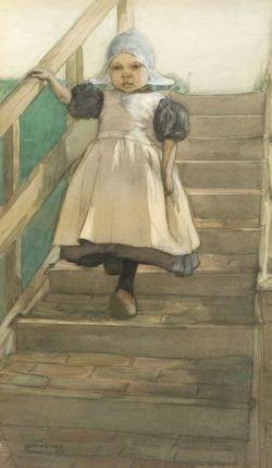 Marcia Oakes Woodbury (American, 1865-1913)  Little Dutch Girl