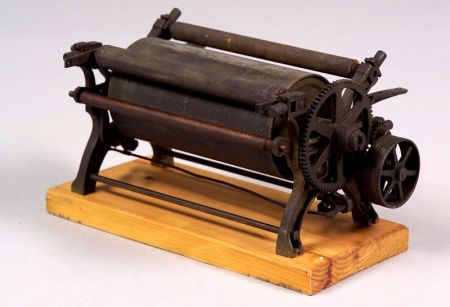Patent Model of a Print Roller