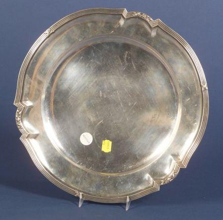 Austro-Hungarian Silver Salver