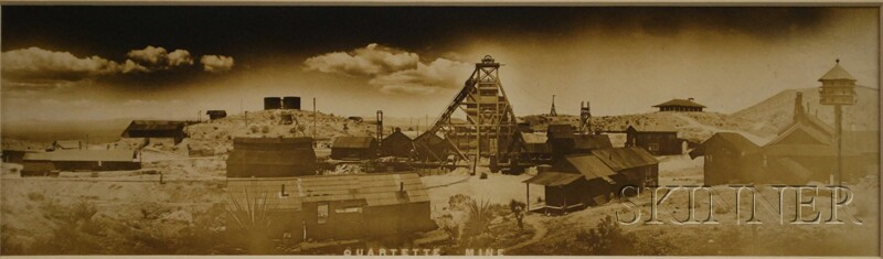 American School, 19th Century      Quartette Mine.