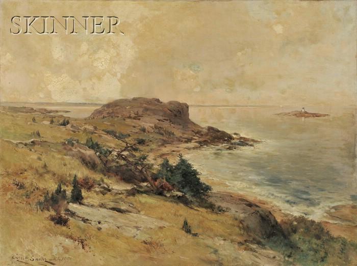 George Henry Smillie (American, 1840-1921)      Coastal Scene