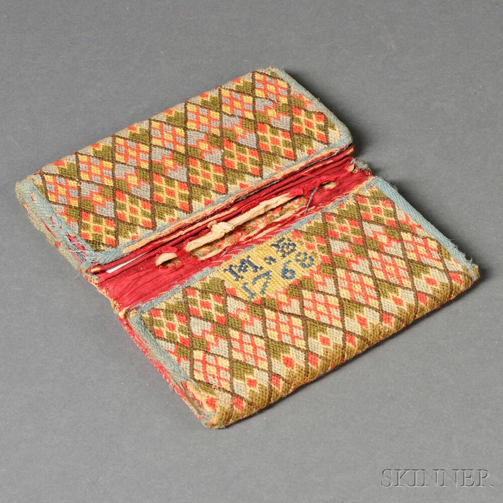 Wool Needlework Wallet