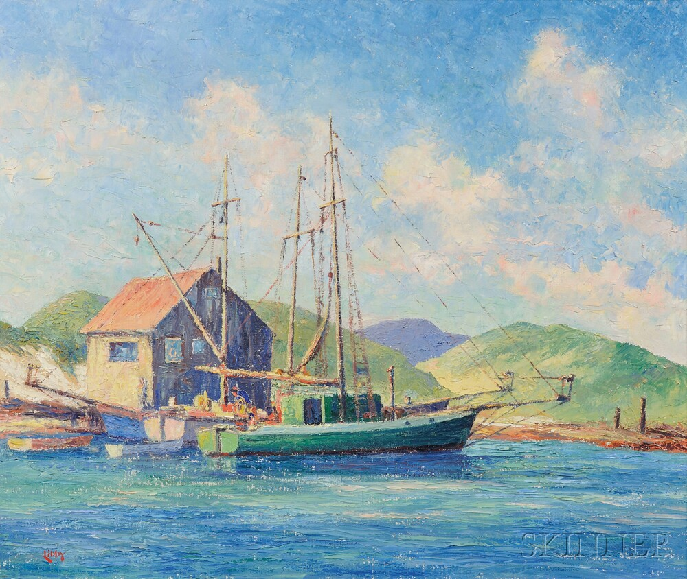 Francis Orville Libby (American, 1883-1961)      The Home Port
