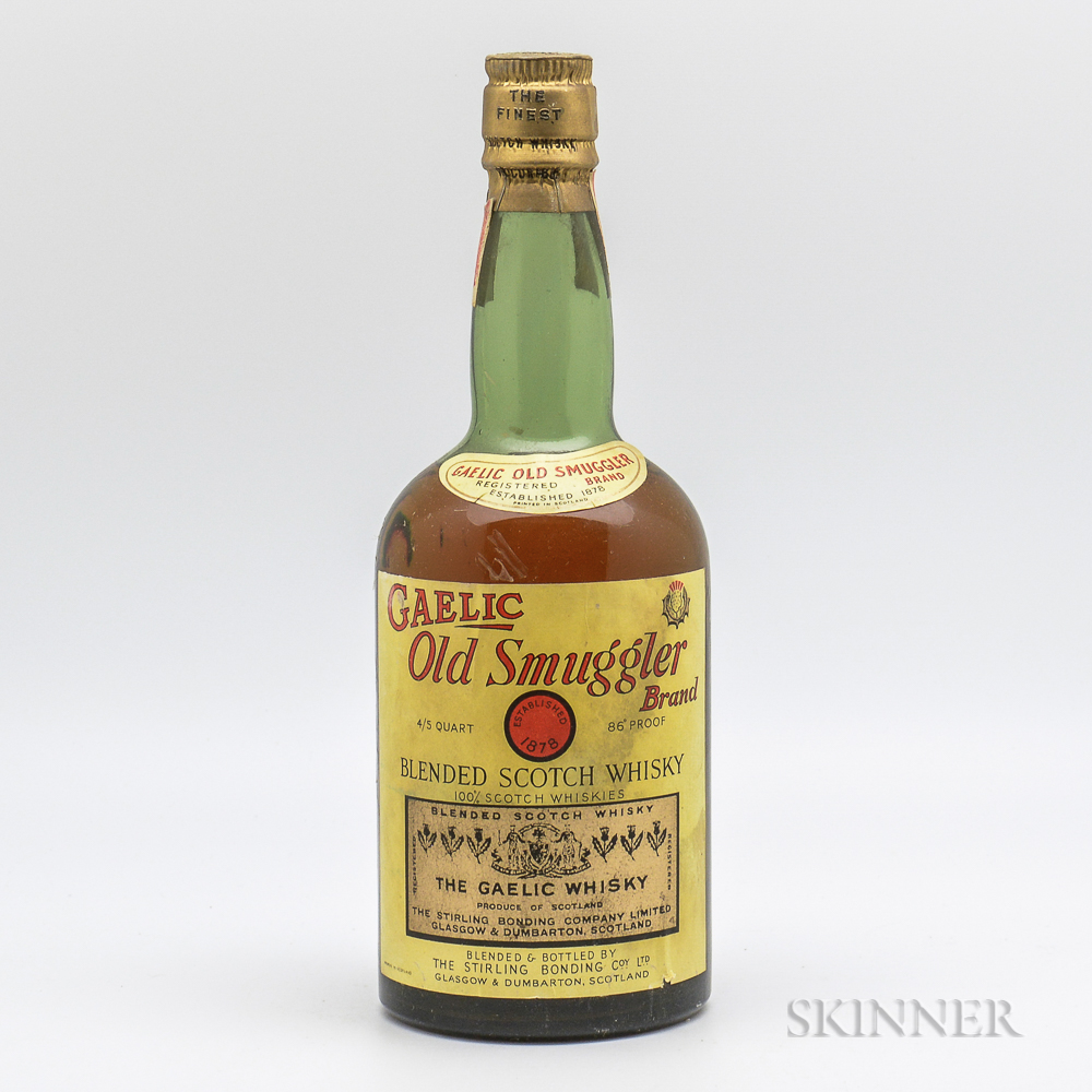Gaelic Old Smuggler, 1 4/5 quart bottle