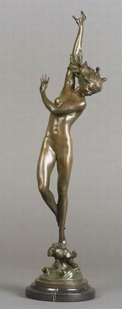 Harriet Whitney Frishmuth (American, 1880-1979)  Crest of the Wave