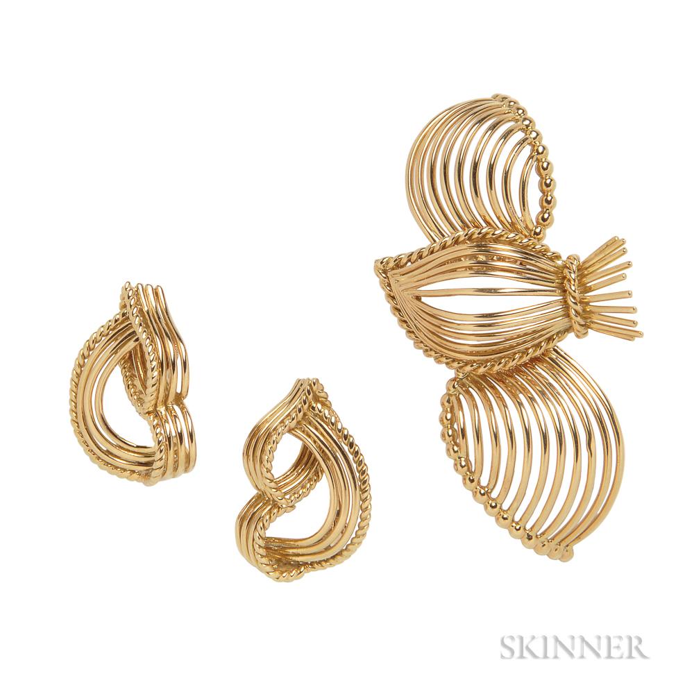 18kt Gold Suite, Cartier