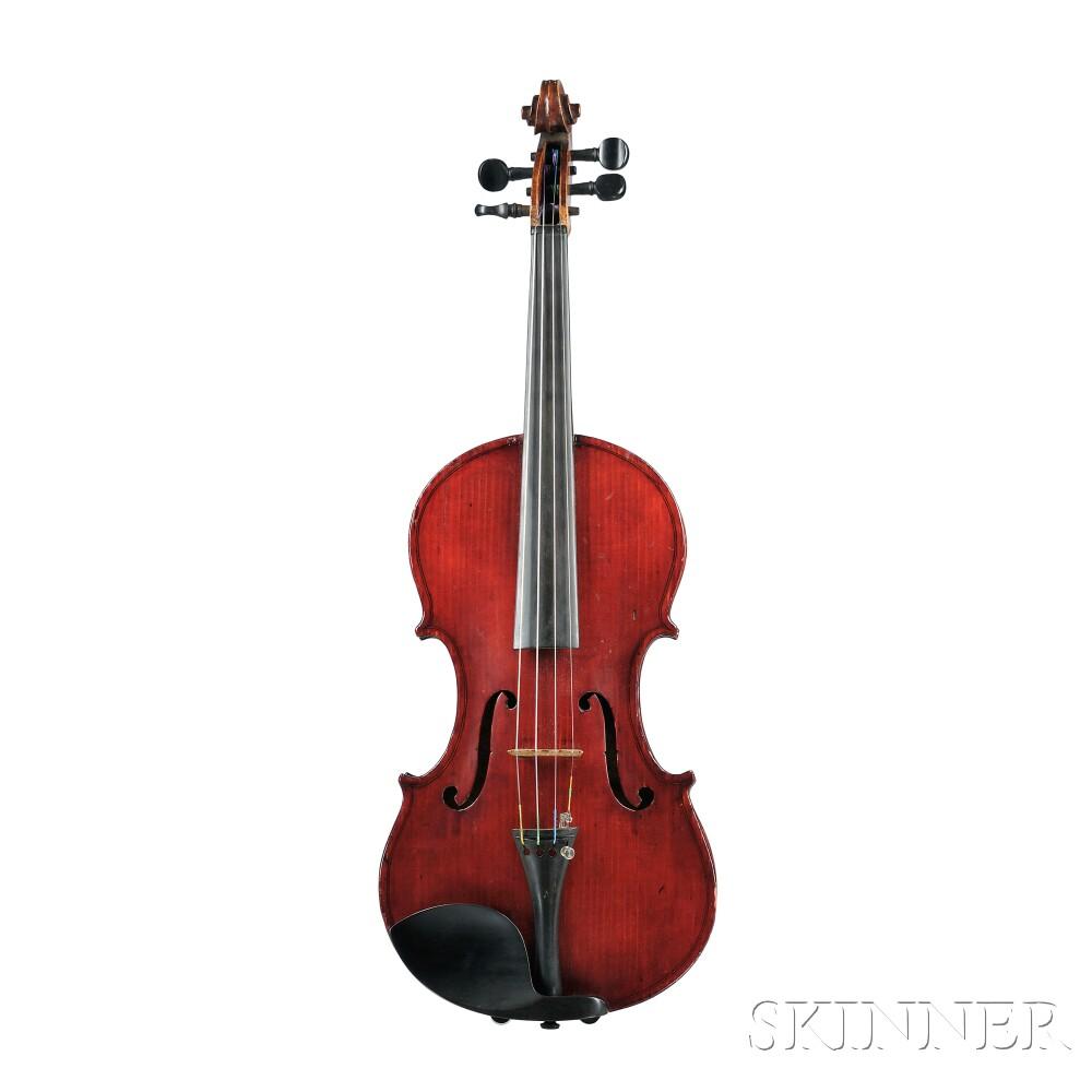 Modern American Violin, E. Frank Chapman, Haverhill, Massachusetts