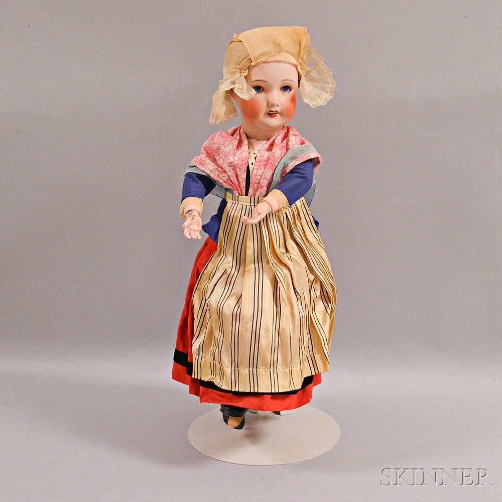 SFBJ Bleuette Bisque Head Doll