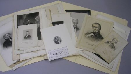 Collection of Unframed Engravings and Prints Depicting 18th and 19th Century   Historical Figures